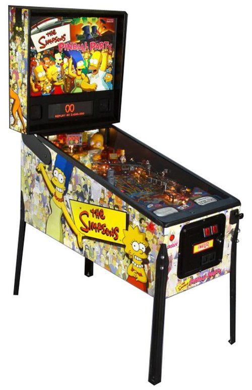 Игровые автоматы пинбол симпсоны играть игровые аппараты на деньги онлайн